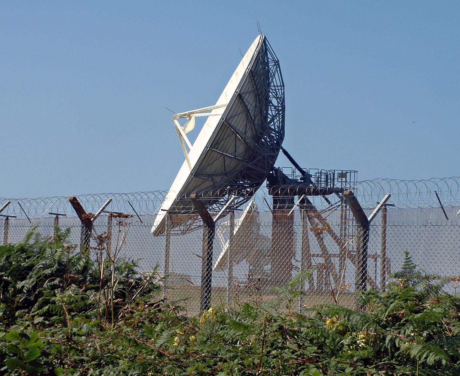 Satelite activity at GCHQ