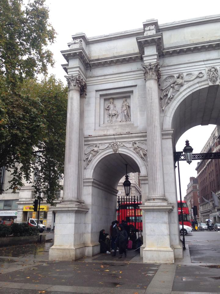 Romanians under Marble Arch