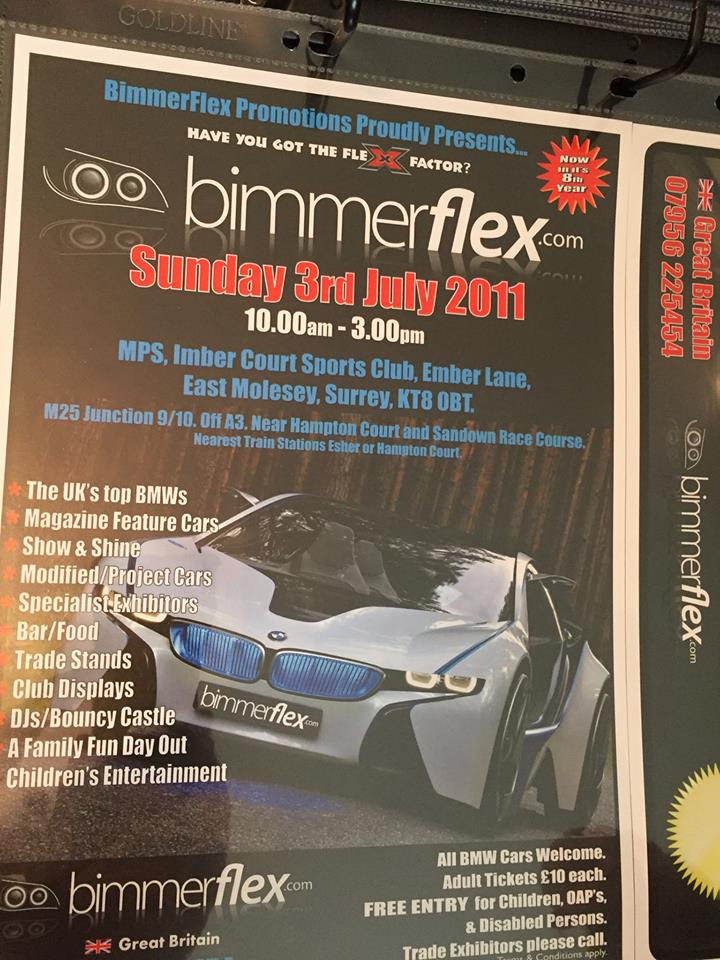 An example of a Bimmerflex poster.
