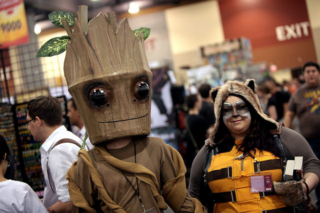 Cosplayers at 2015 Phoenix Comic-Con [credit to Gage Skidmore]