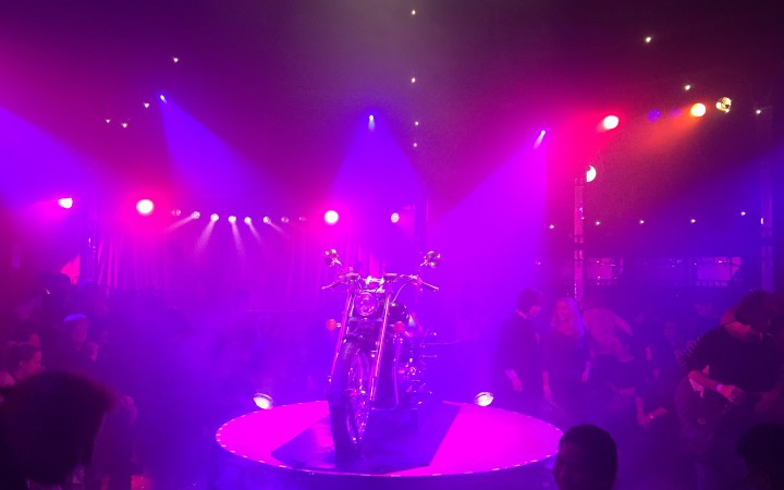 Motorbike used in the show