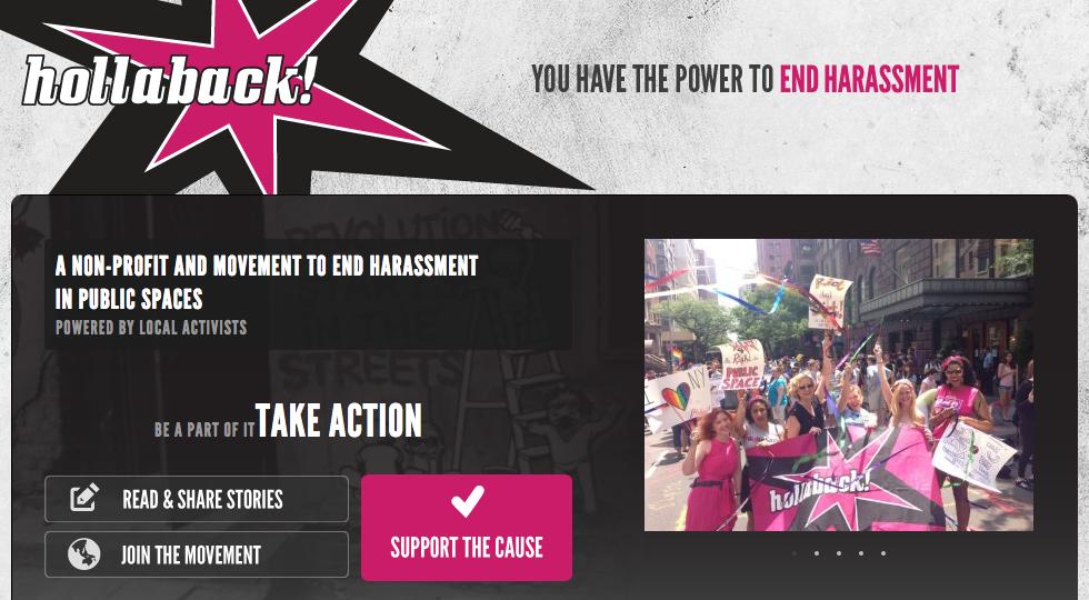 The ihollaback.org website