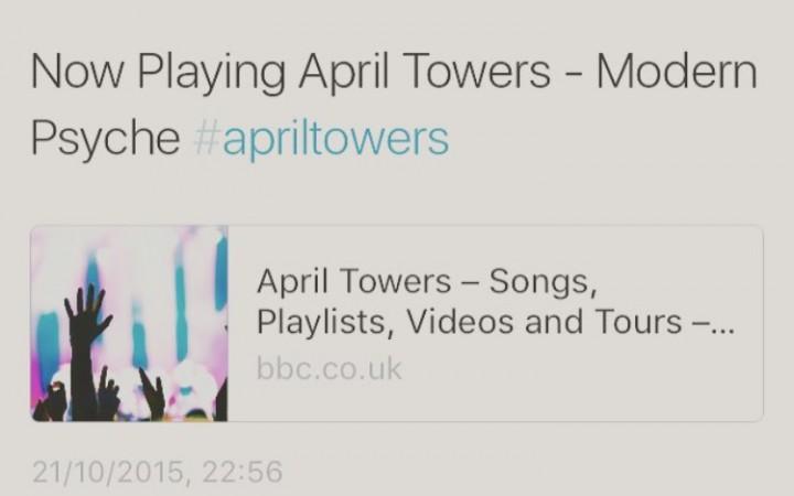 April Towers- Radio One