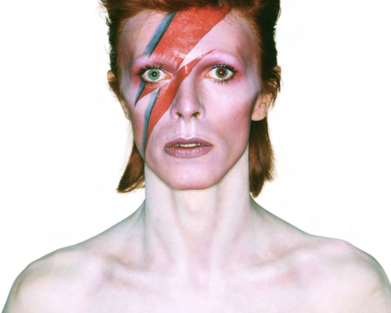 Aladdin Sane cover  1973. Photo by Brian Duffy Photo Duffy © Duffy Archive & The David Bowie Archive