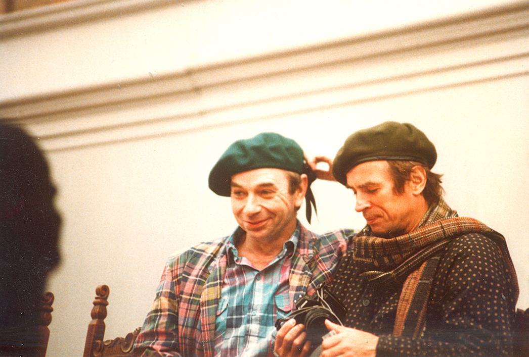 Lindsay with Rudolf Nureyev
