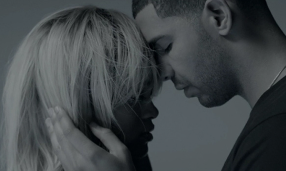 Rihanna and Drake in Take Care video