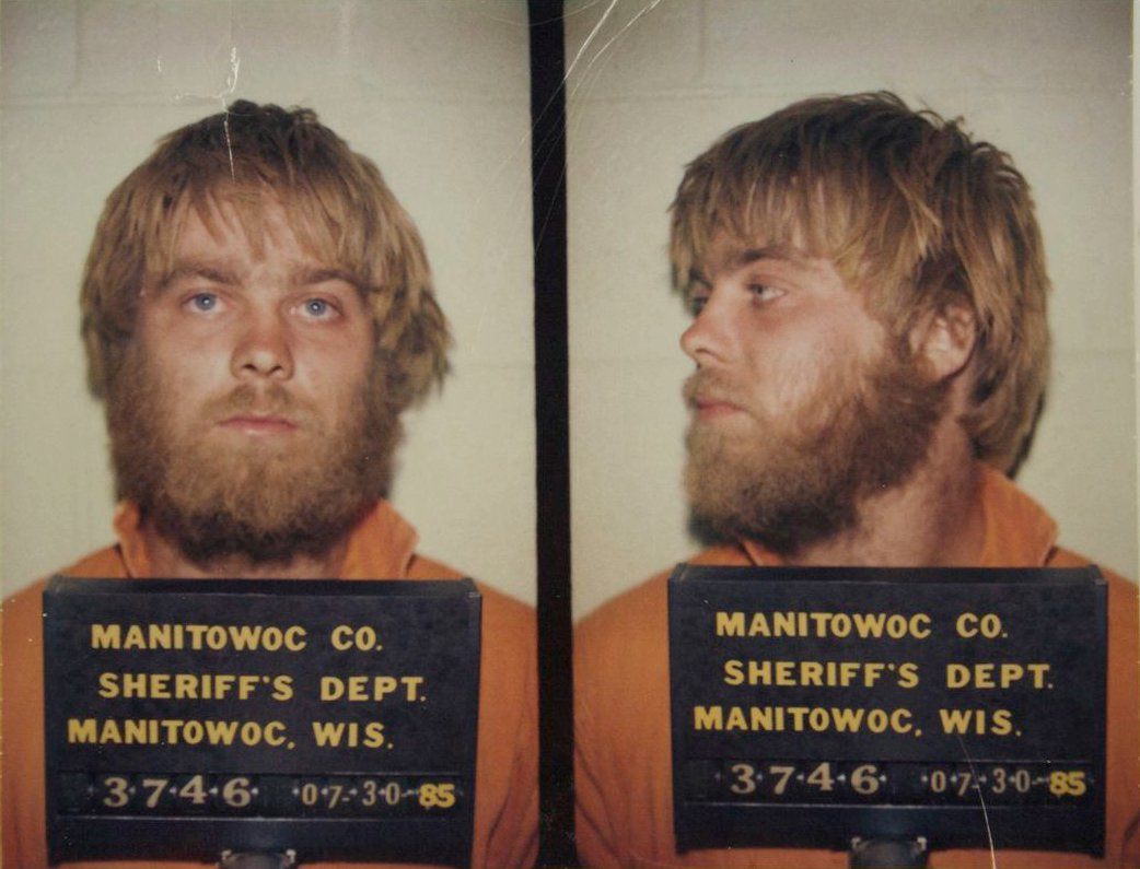 Mug Shot of Steven Avery from 1985