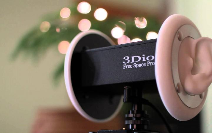 Binaural microphone