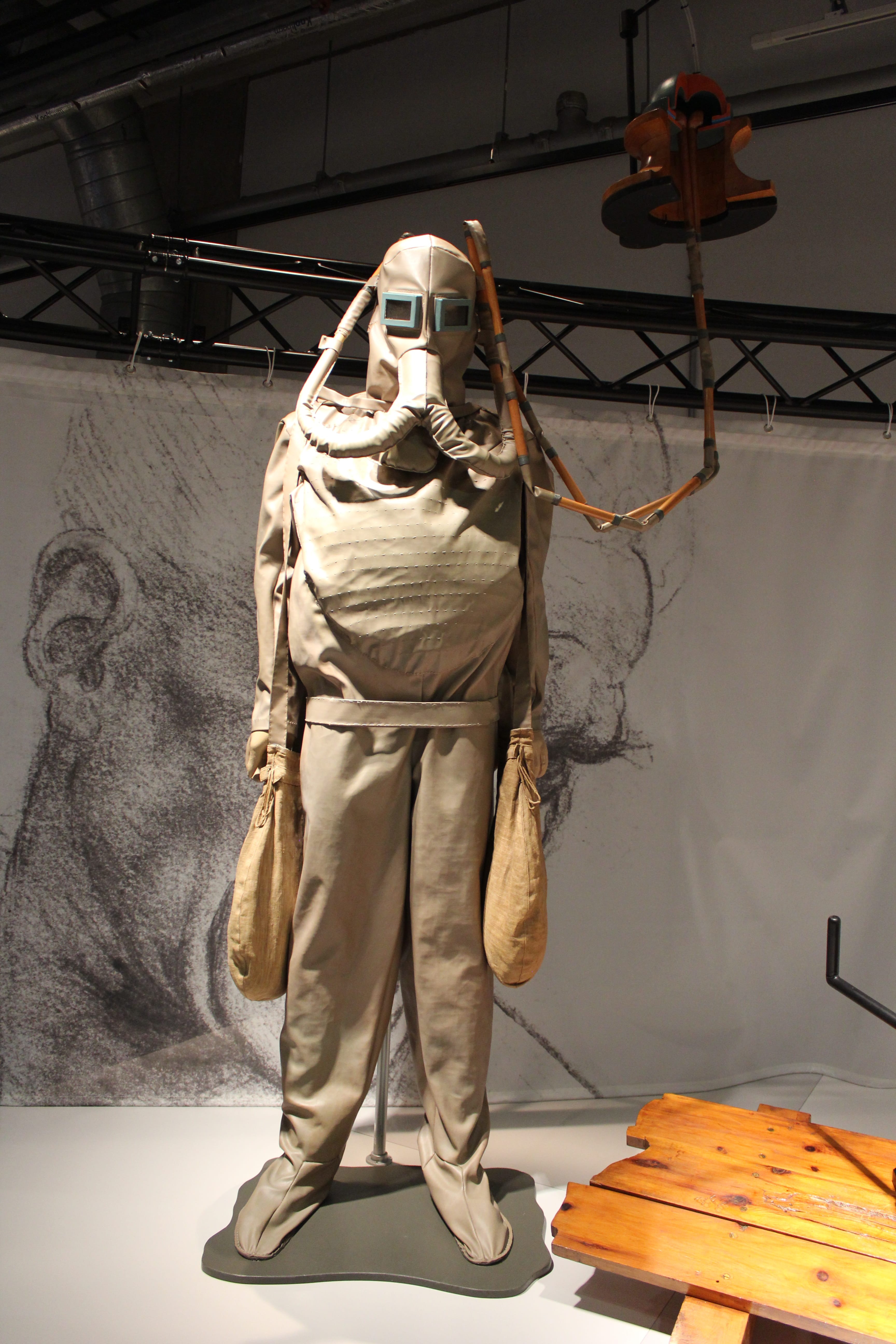 A diving suit Leonardo DaVinci designed