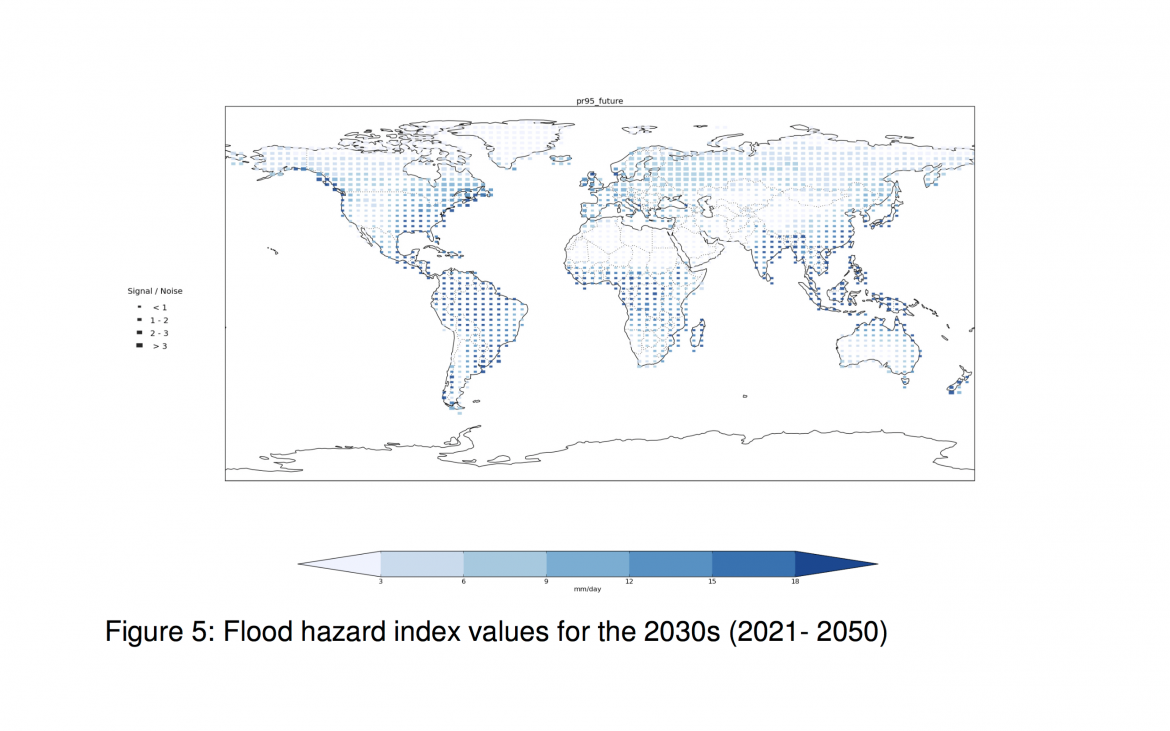 Poverty, Disasters and Climate Extremes in 2030