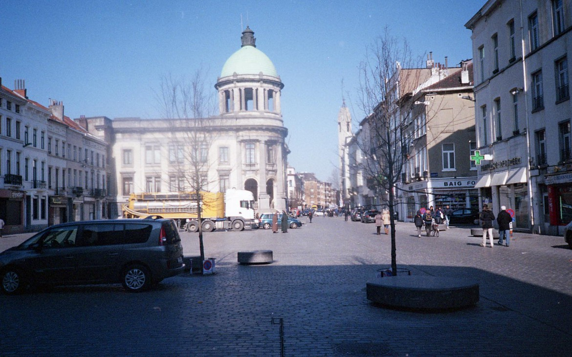The town square of Brussels' Molenbeek