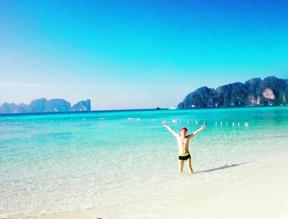 Mornings on Koh Phi Phi