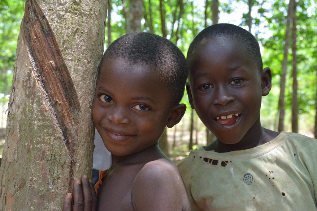 Two Ebola Orphans