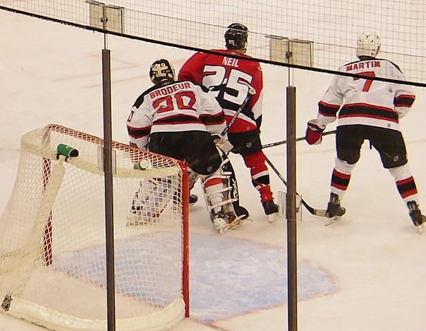 Ottawa Senators enforcer Chris Neil