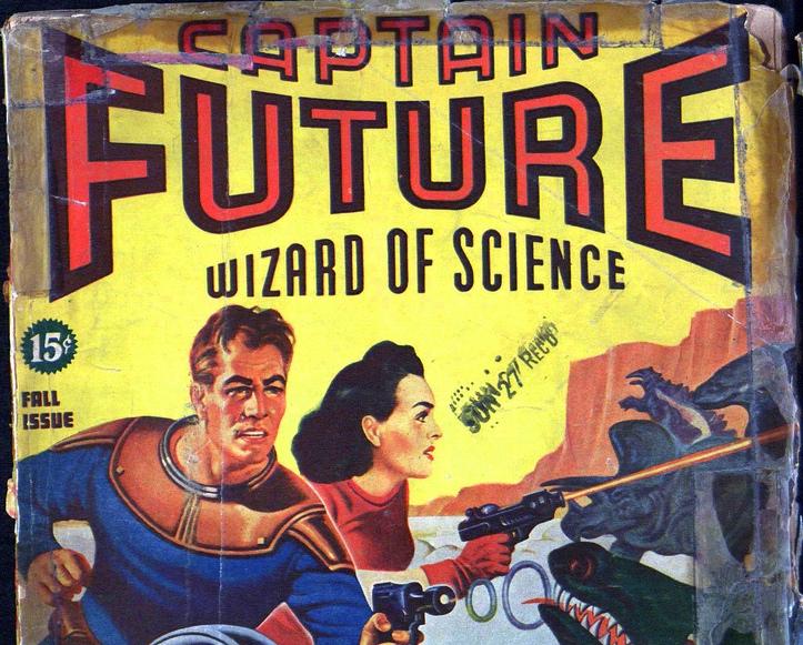 Captain Future comic