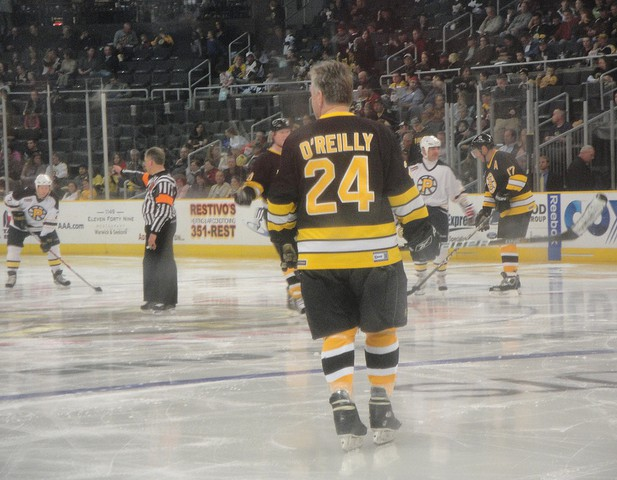 Ice Hockey star Terry O'Reilly