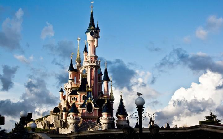 The Disneyland castle