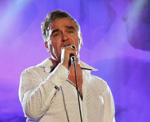 Morrisey singing