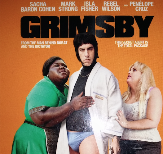 Poster for the film Grimsby