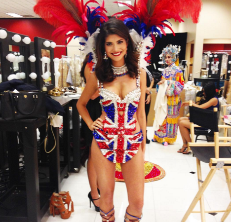 National Costume at Miss Universe. Narissara Nena France (@nenafrance) Instagram.