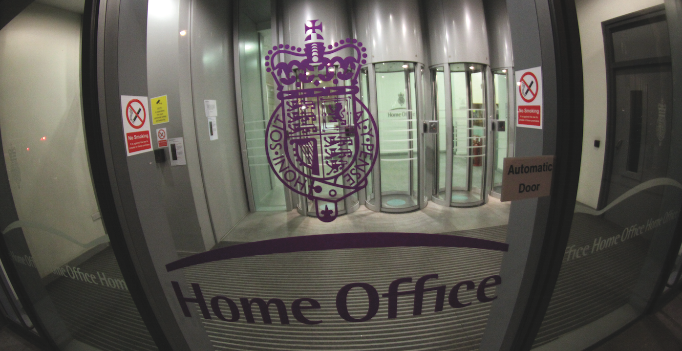 Photo of the Home Office doors