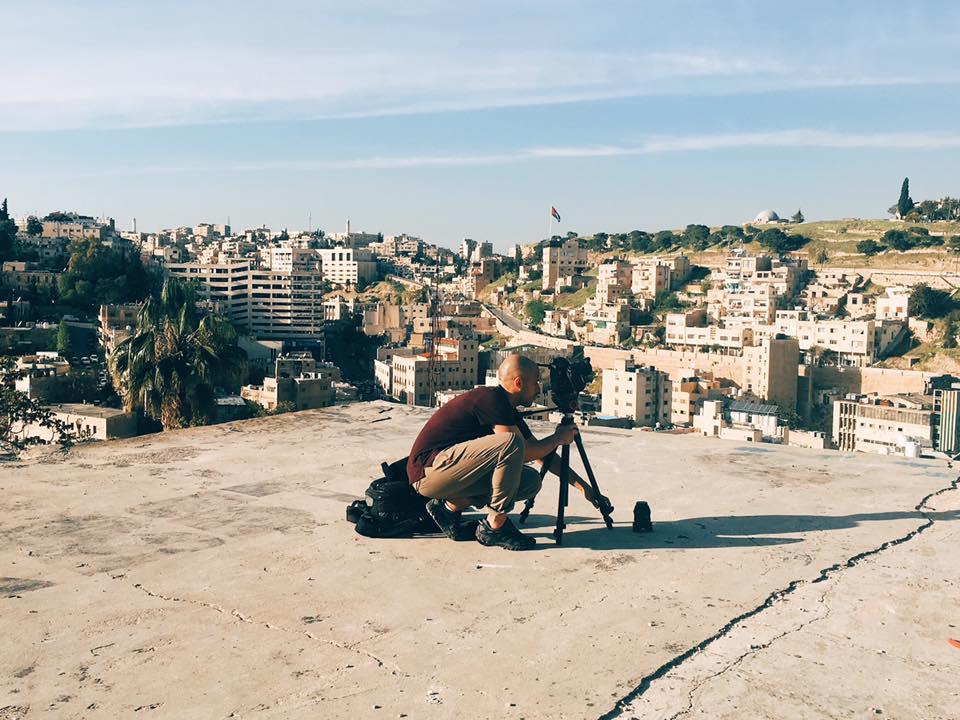worldwidetribe team filming in Jordan