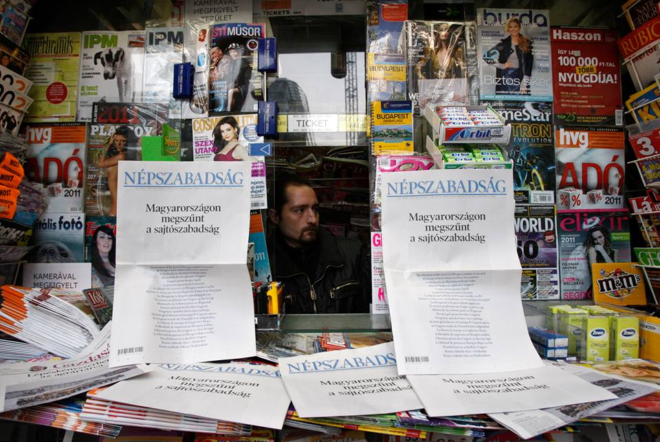 newsagent in Hungary