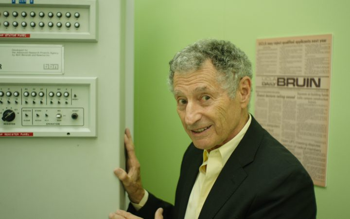 Dr. Leonard Kleinrock in LO AND BEHOLD, a Magnolia Pictures release. Photo courtesy of Magnolia Pictures.