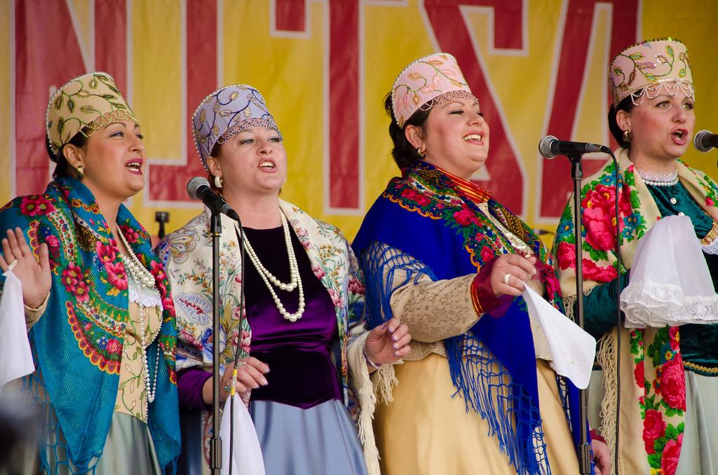 Maslenitsa performers 2012
