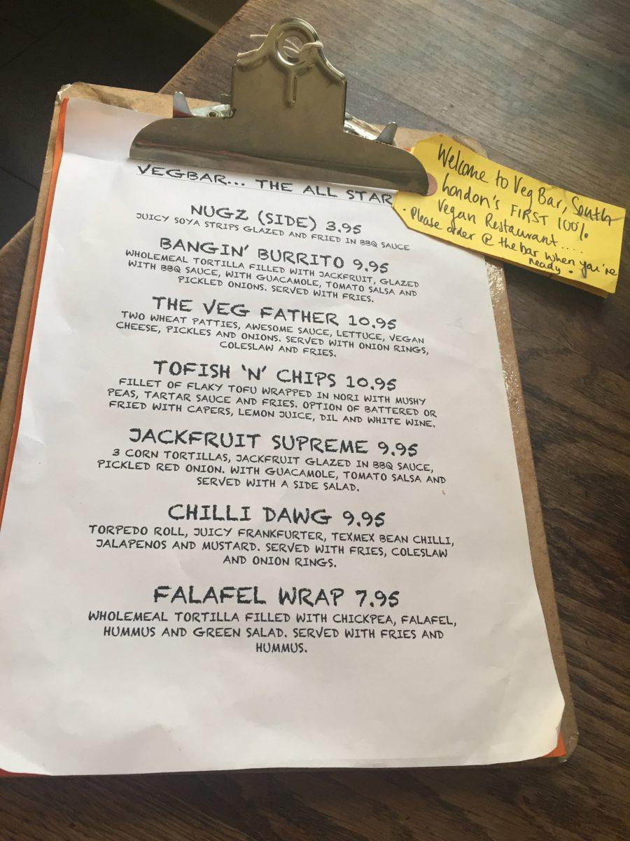 All star menu
