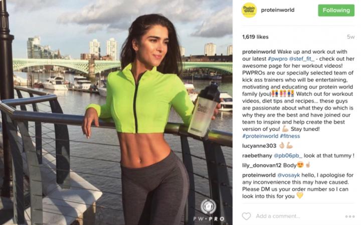 Protein World on Instagram