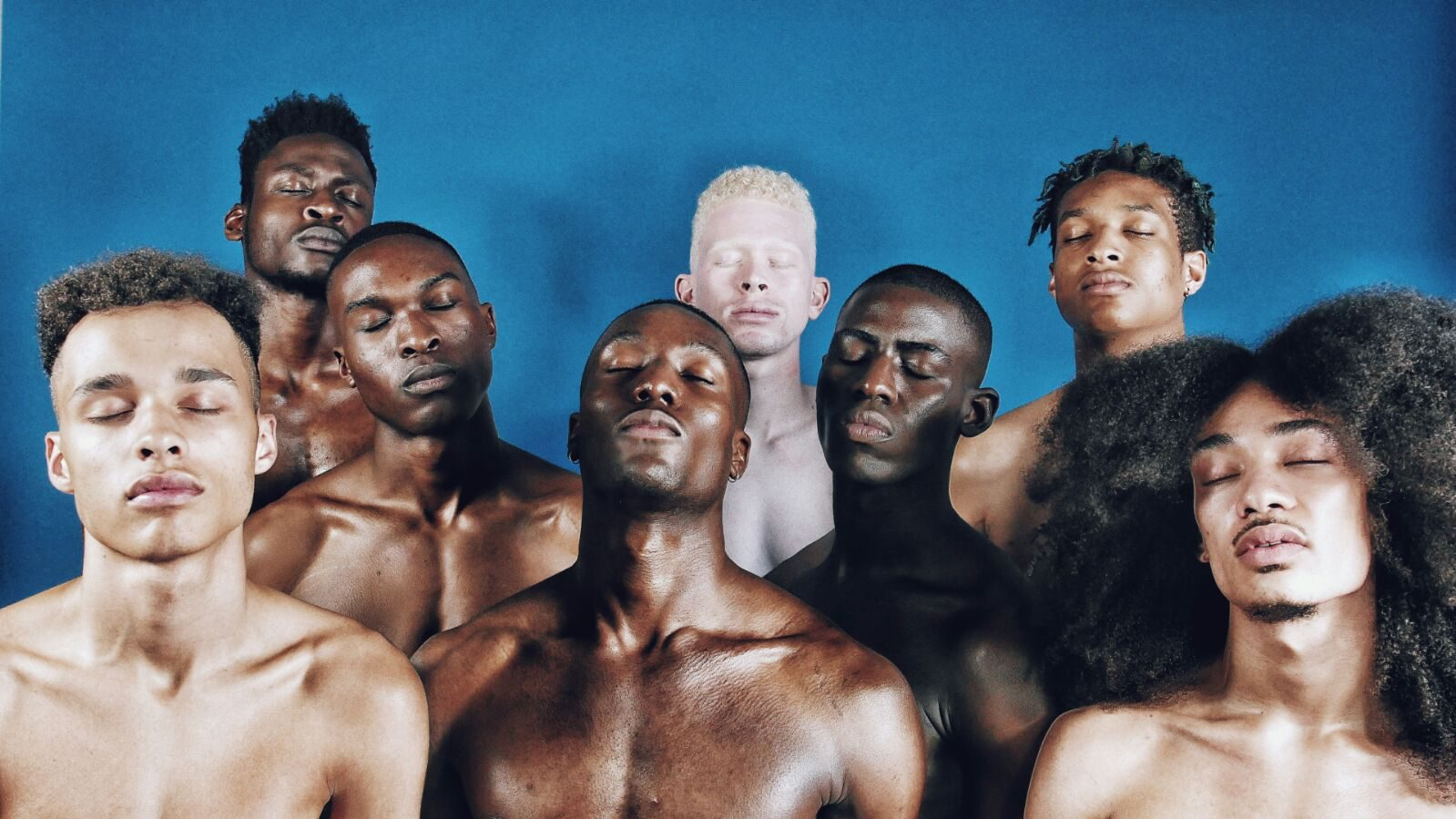 A group of men of colour