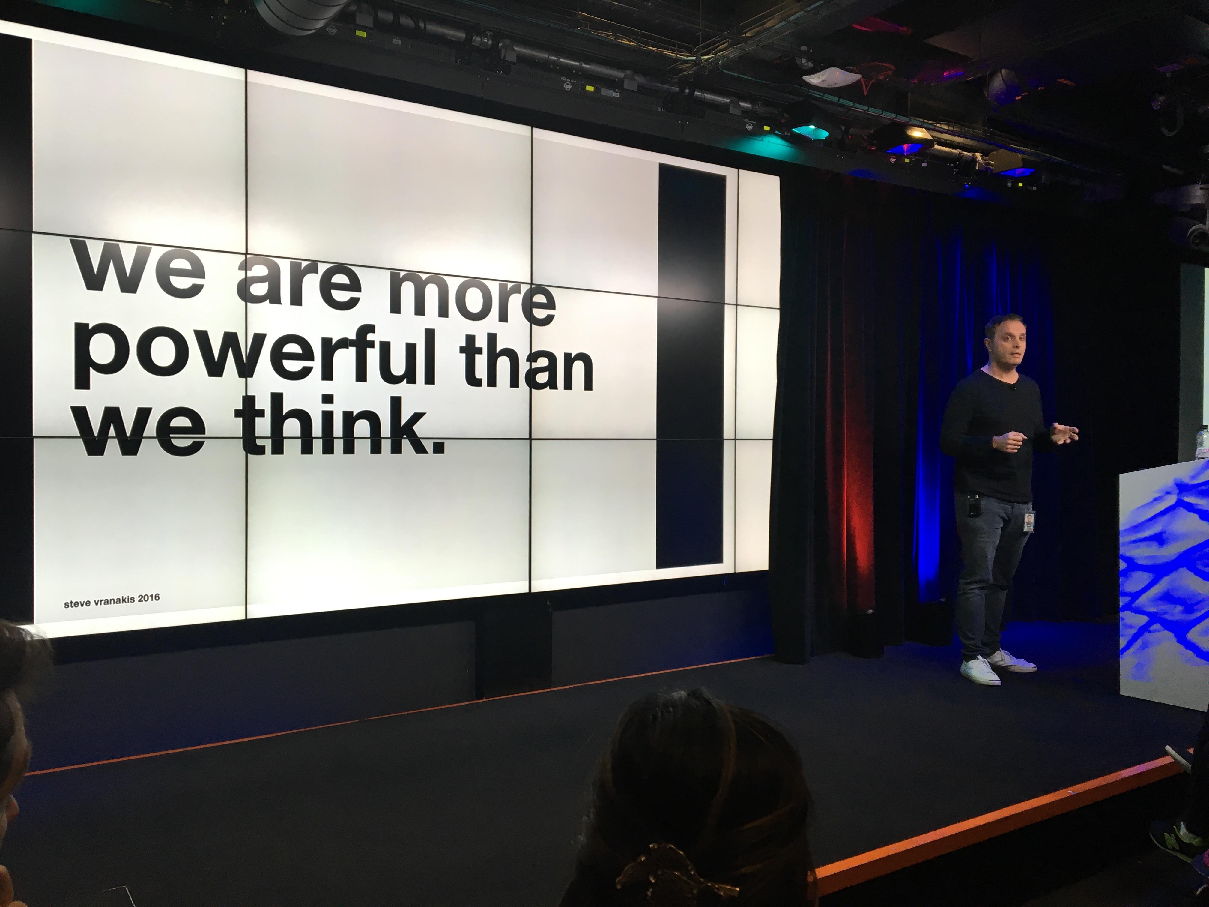 Steve Vranakis, Google Lab Director, Unicef NextGen Techfugees talk