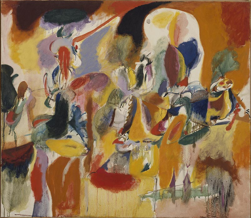 Painting by Arshile Gorky