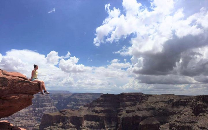 Me on the grand canyon