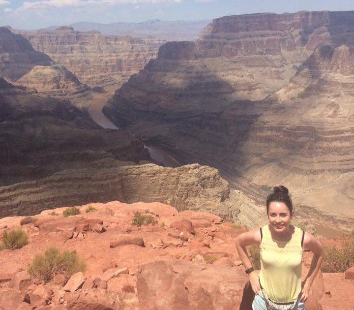 Rachel on Grand Canyon