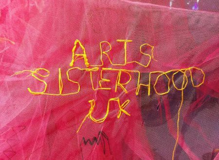 arts sisterhood embroidery