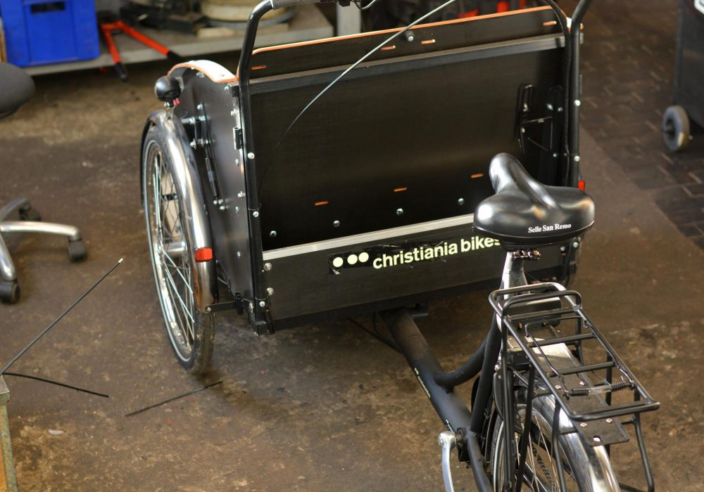 A Christiania cargo bike