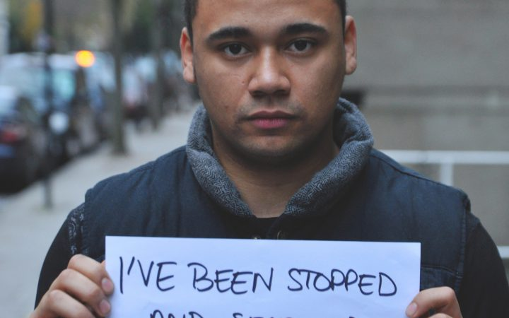 Stop and search victim