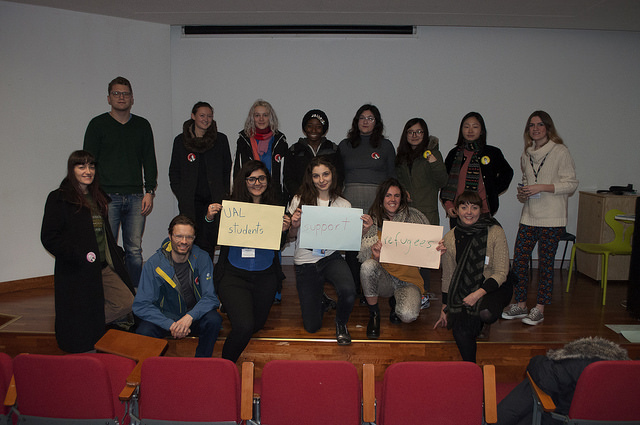 UAL students support refugees
