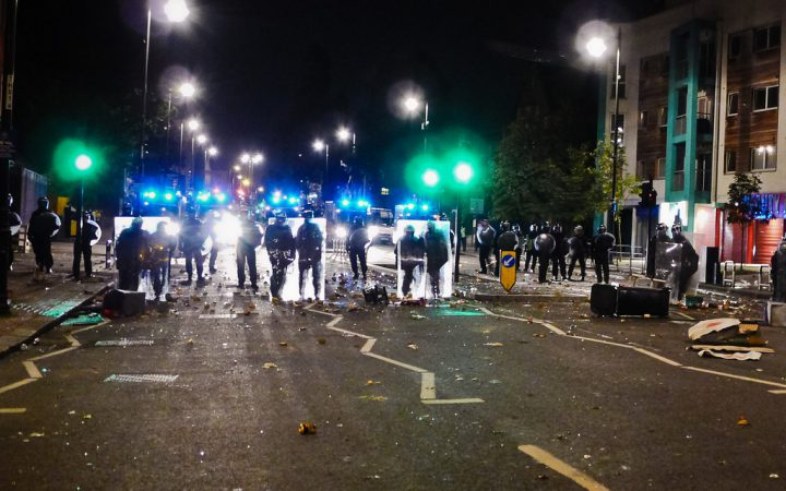 Tottenham during the London Riots by Nico Hogg via Flickr Commons CC