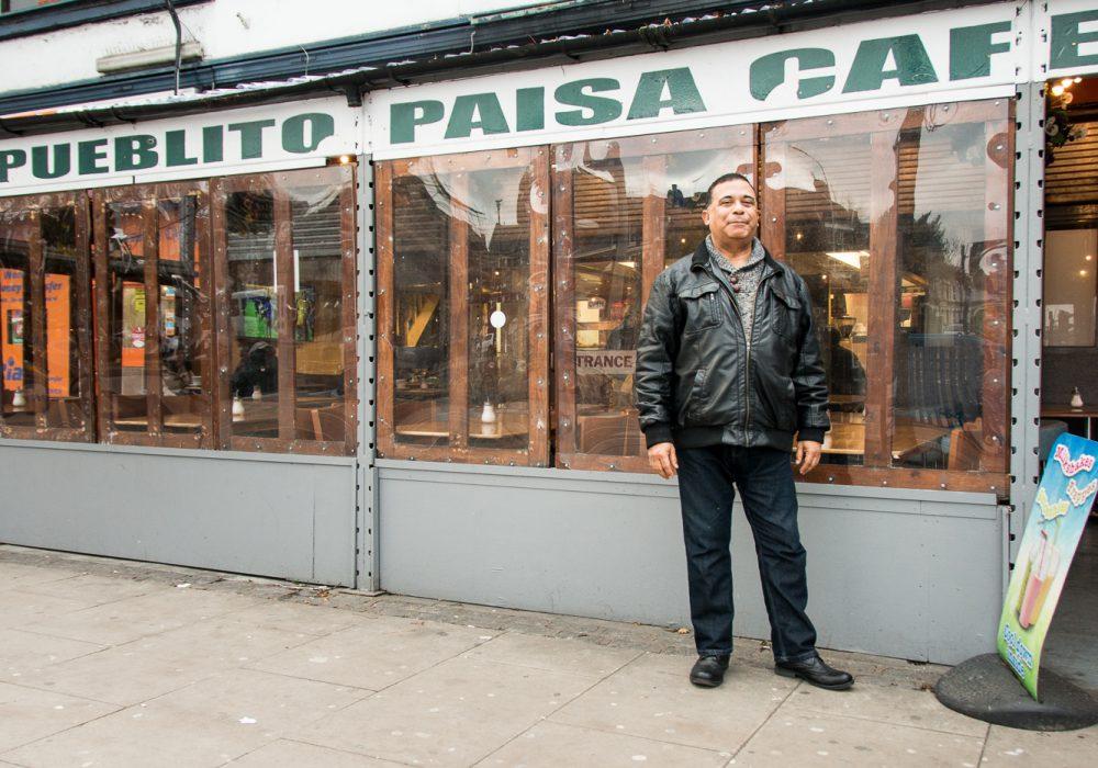 Pueblito Paisa Cafe with Pedro Velazquez
