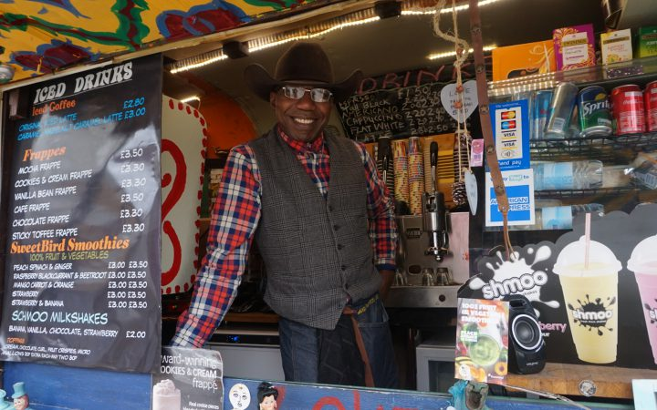 john - director of black cowboy coffee and waffles
