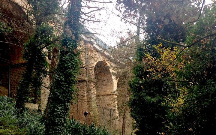 Viaduc Passerelle in Luxembourg City