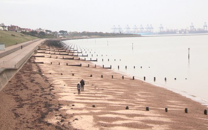 The beach at Harwich stretches aslong as the eye can see. However, it is usually virtually empty (Photo: James Cropper)