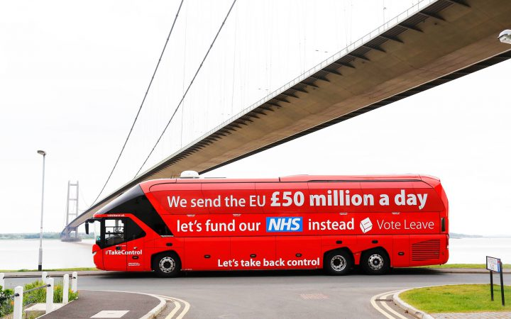 Vote Leave Bus