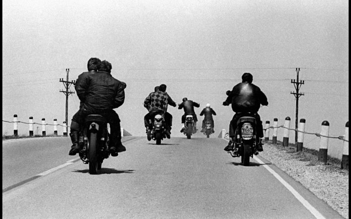 Danny Lyon: USA. Wisconsin. 1965. Route 12.