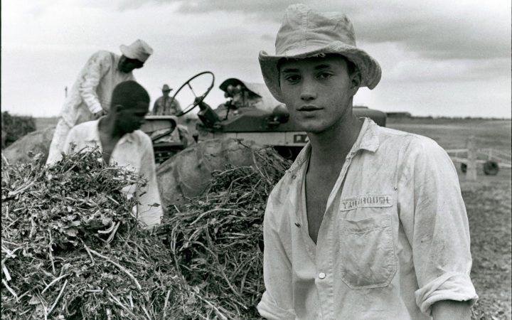 Danny Lyon: Two years for burglary, Texan prison farm, 1968.