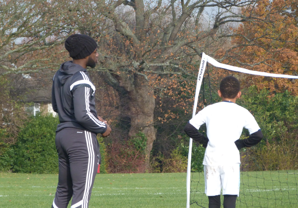 Anthony coaching Jaden
