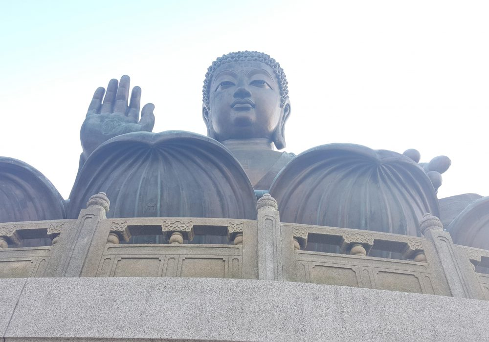 Completed in 1993, the big Budda sits at 34 metres high and is situated near a Po Lin Monastery Buddhist temple